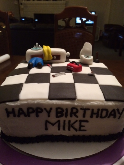 Plumber Cake Hb Mike Cakes By Jan Sc