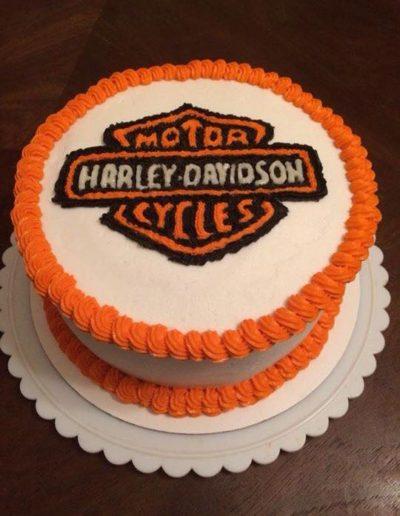Harley D Cake