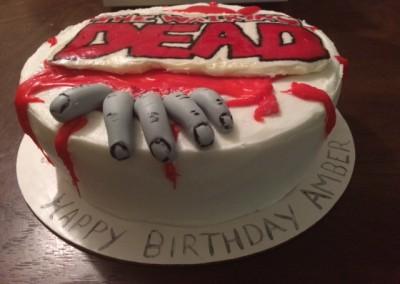 Walking Dead Cakes